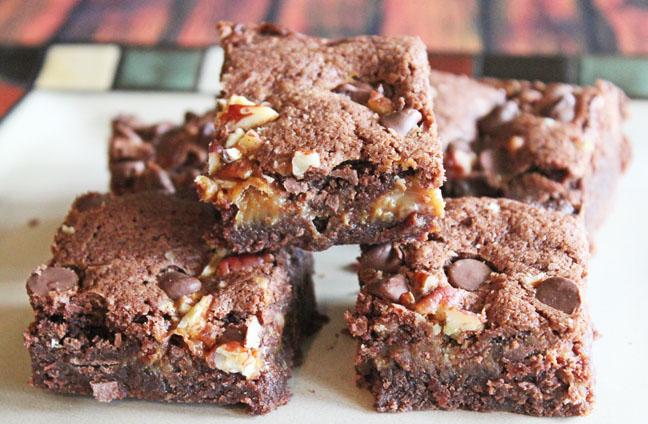 Loaded Turtle Brownies