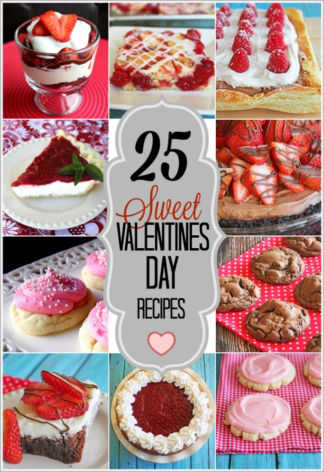 25 Sweet Valentines Day Recipes