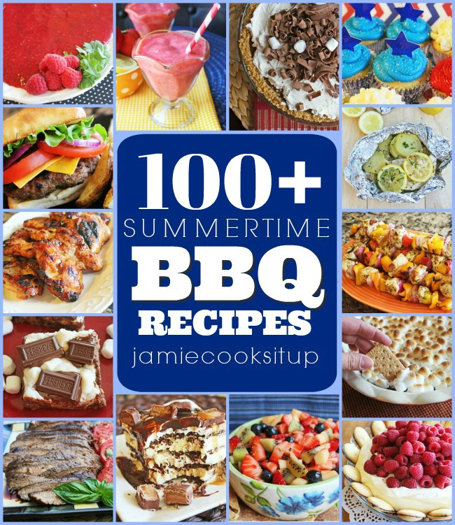 100 Plus, Summertime BBQ Recipes