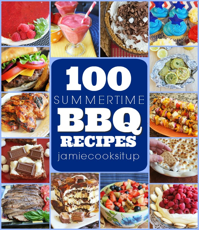 100 Summertime BBQ Recipes