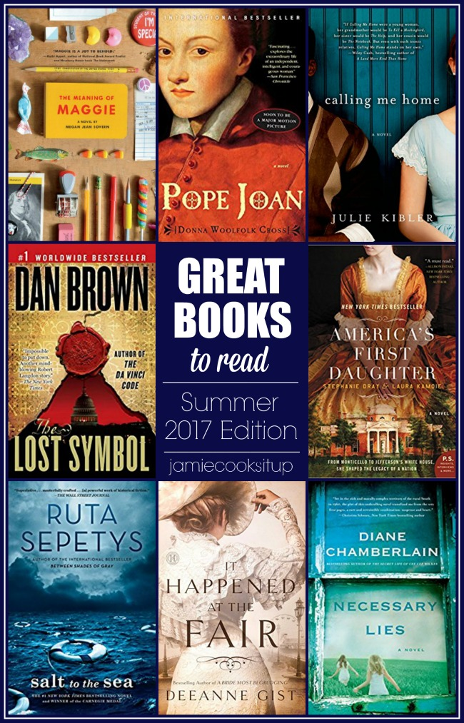 Great Books to Read this Summer (2017 Edition) and $50 Amazon Gift Card Giveaway