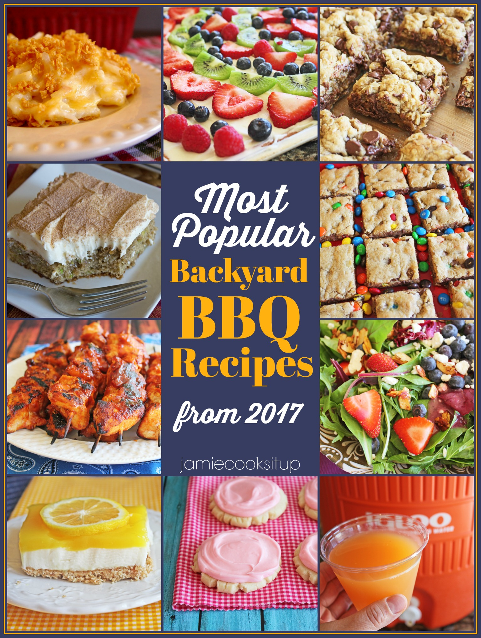 Most Popular Summer BBQ Recipes from 2017