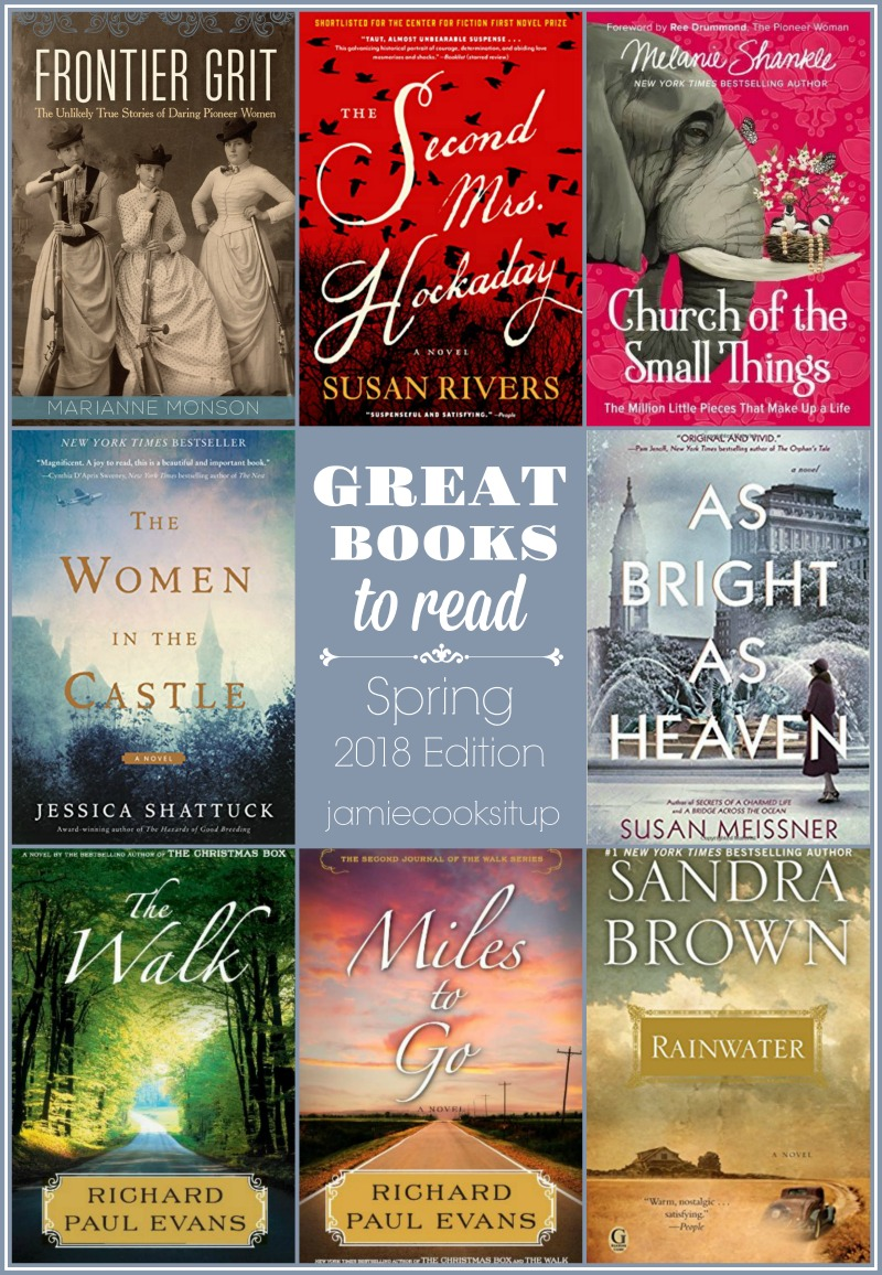 Fabulous Books to Read (Spring 2018 Edition) and $50 Amazon Gift Card Giveaway