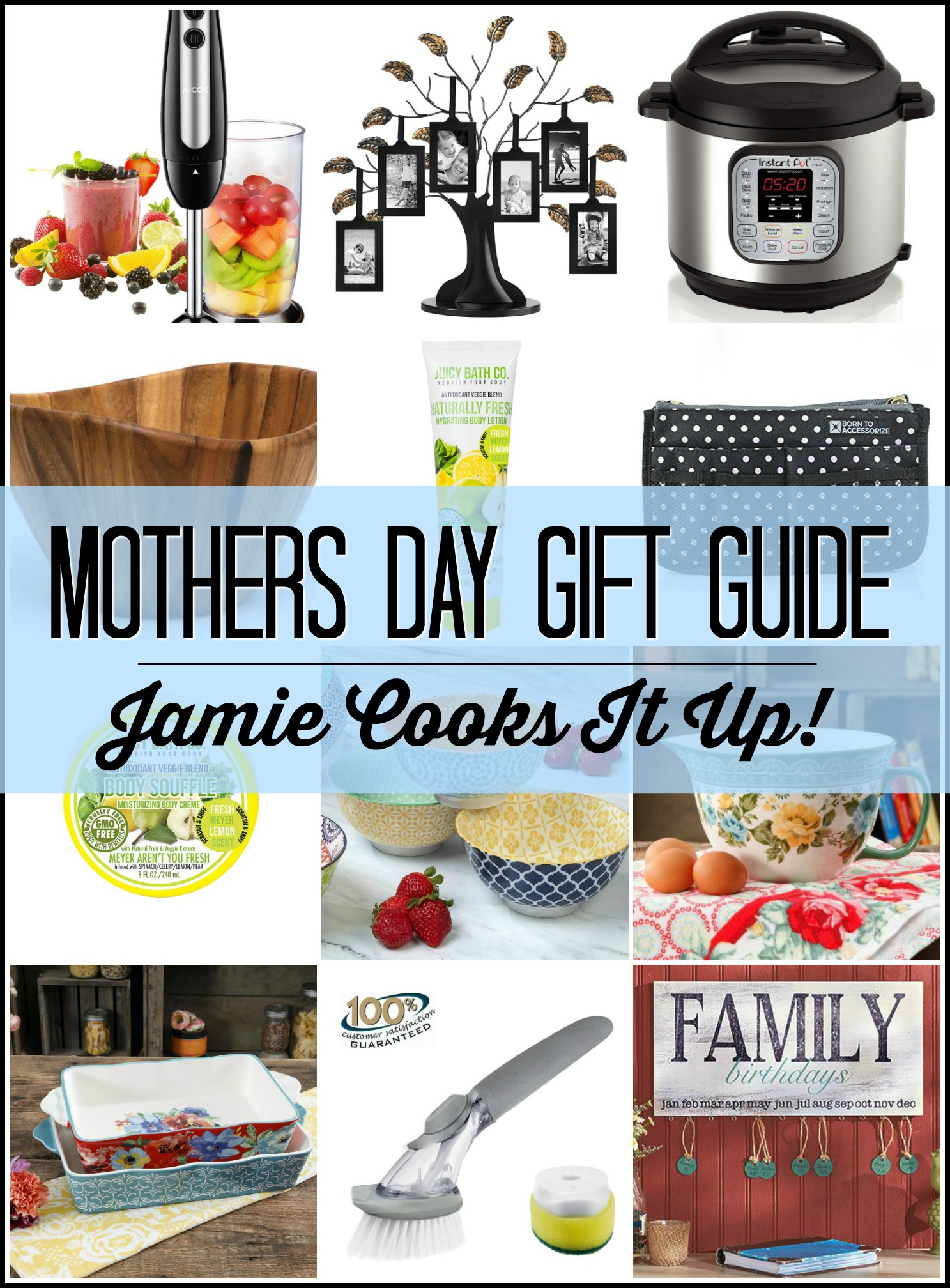 Instant Pot Giveaway and Mother's Day Gift Guide (Favorite Things)