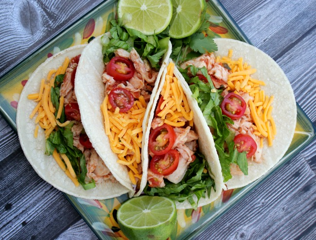 10 Minute Chicken Tacos