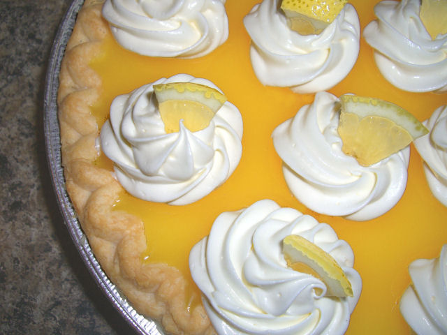 Luscious Lemon Pie