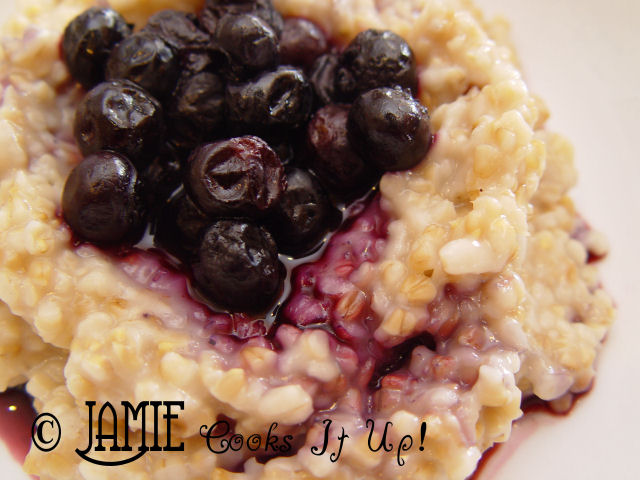 Slim Down Saturday and Steel Cut Oats