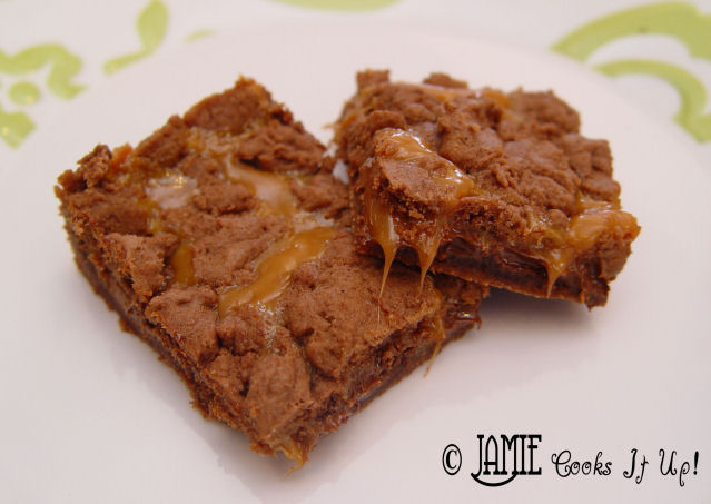 Caramel Layer Brownies