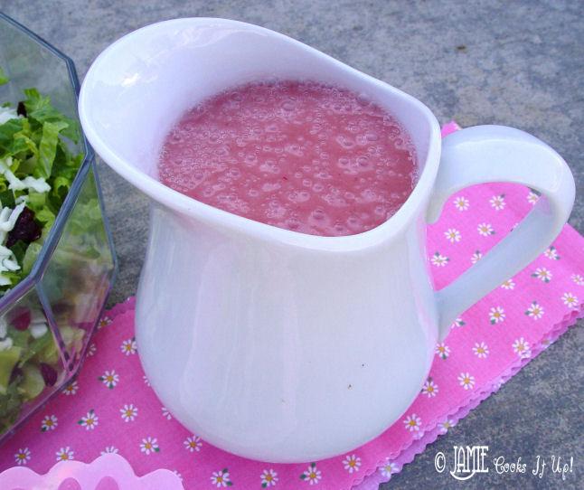 Pink Dressing Salad