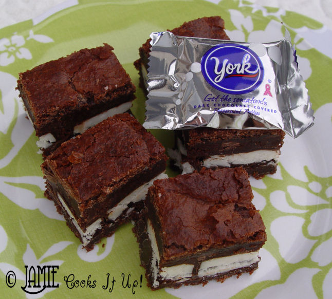 York Peppermint Paddy Brownies