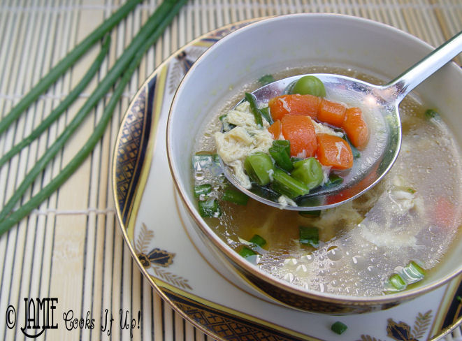 Healthy Egg Drop Soup