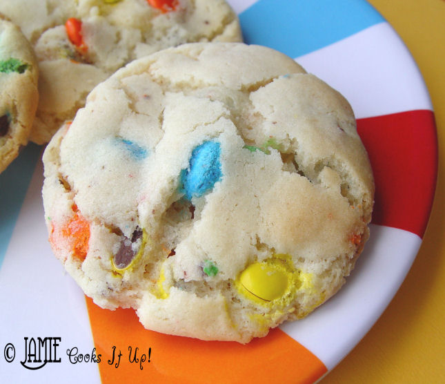 M and M Sugar Cookies