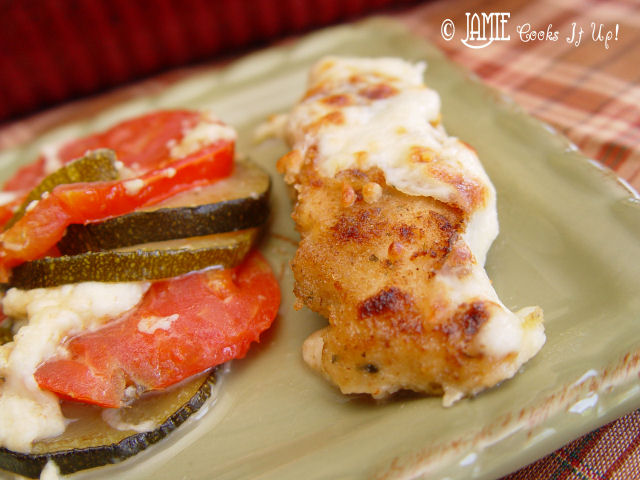 Got Tomatoes? Got Zuchinni? Make this Chicken Dinner.