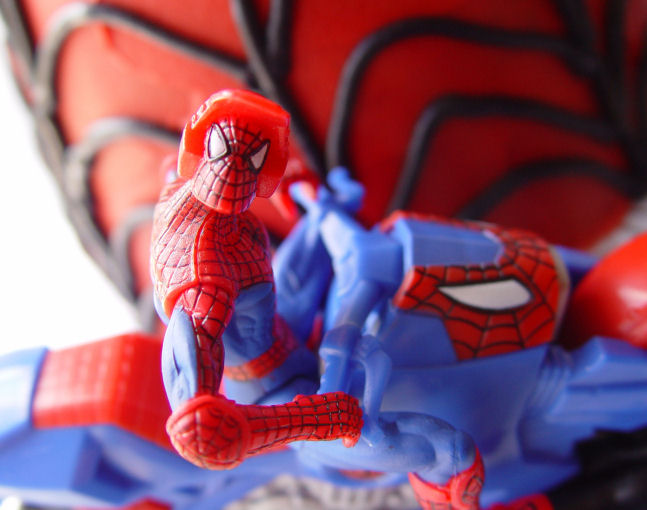 Easy Spider Man Cake