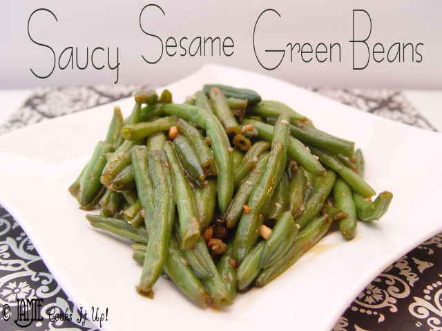 Saucy Sesame Green Beans