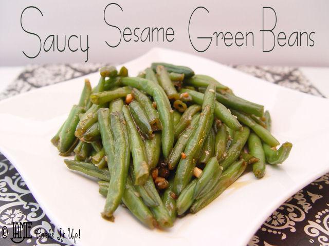 Saucy Sesame Green Beans
