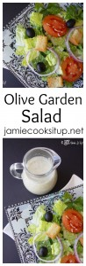 Olive Garden Salad from Jamie Cooks It Up!