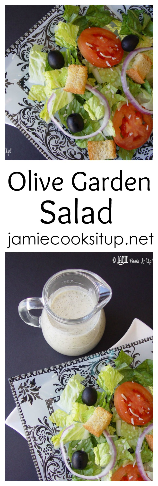 olive garden salad from jamie cooks it up - How To Make Olive Garden Salad