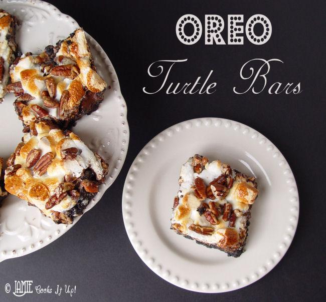 Oreo Turtle Bars