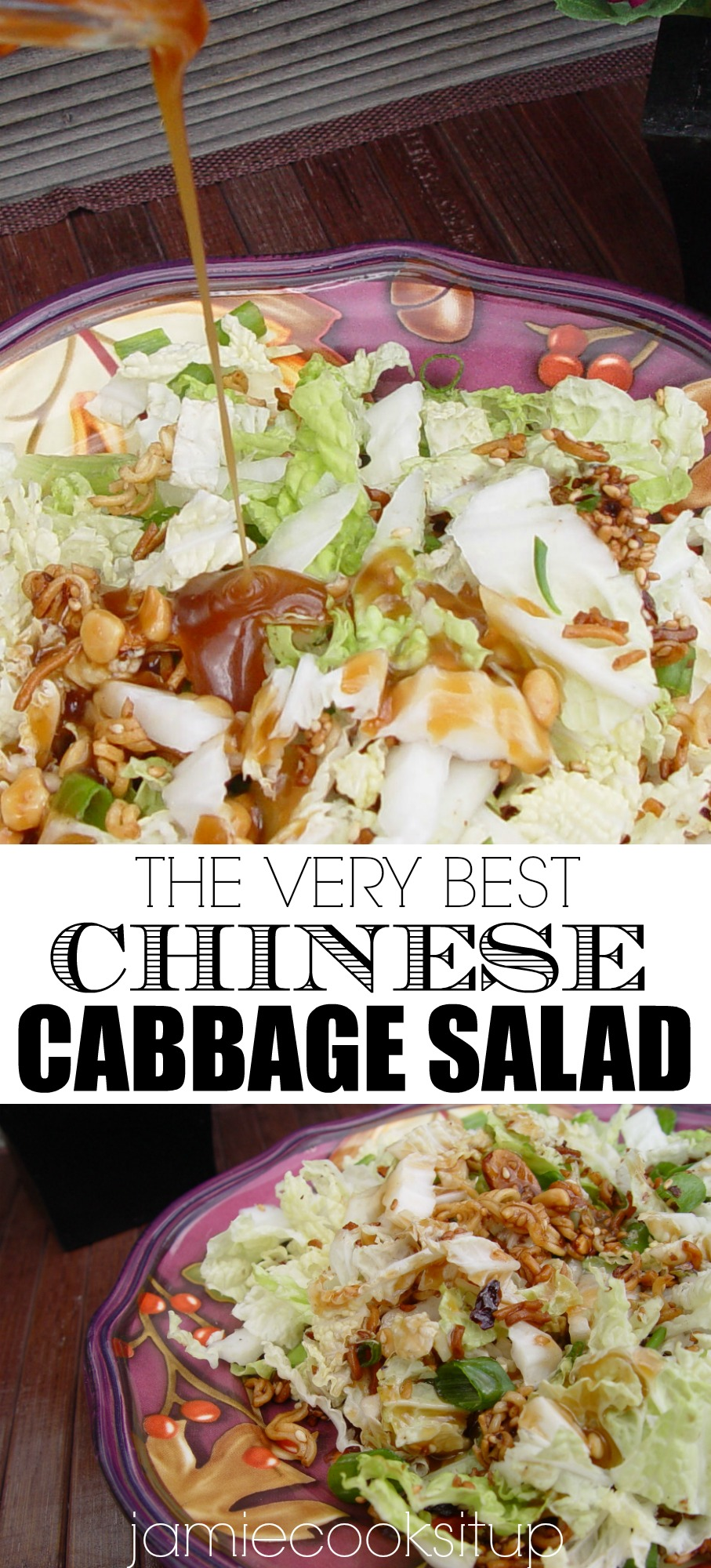 Chinese Cabbage Salad Jamie Cooks It Up Family Favorite Food And Recipes