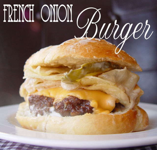 French Onion Burger Of Wonder