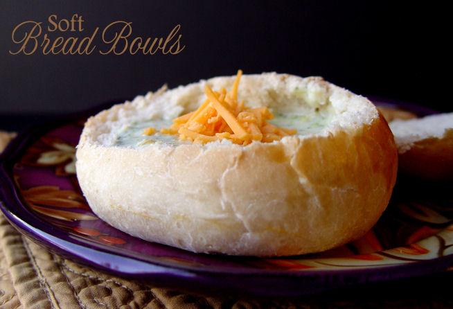 Soft Bread Bowls
