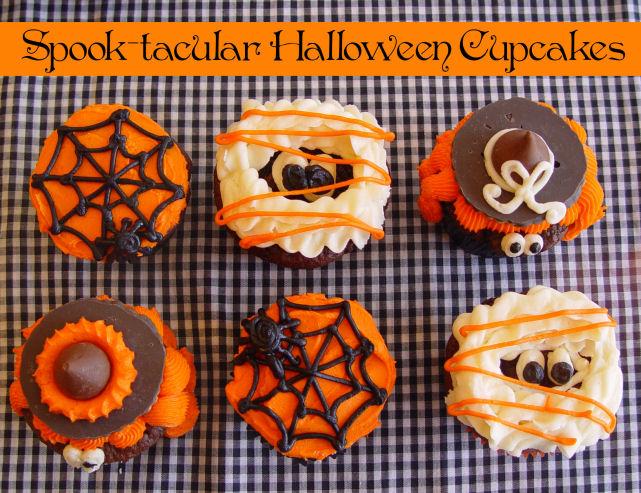 Spook-tacular Halloween Cupcakes