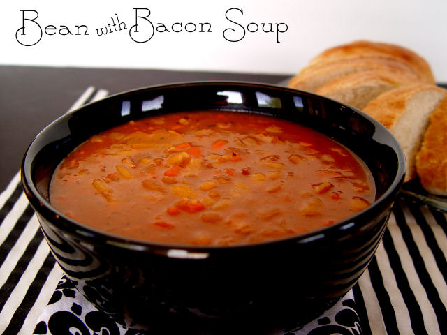 Bean with Bacon Soup