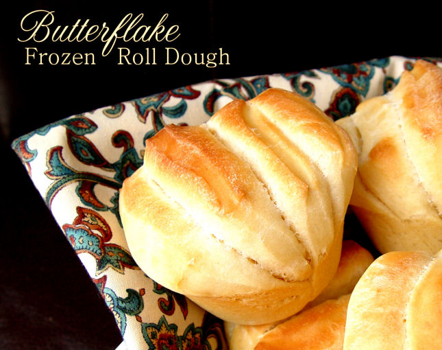 Butterflake Frozen Roll Dough