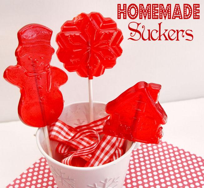 Homemade Suckers