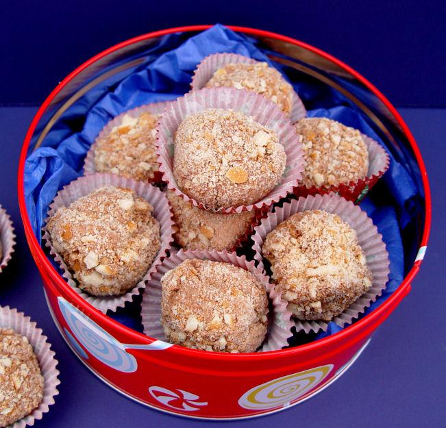 Fluffy Chocolate Truffles