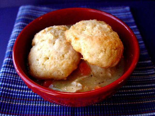 Hearty Chicken and Biscuits