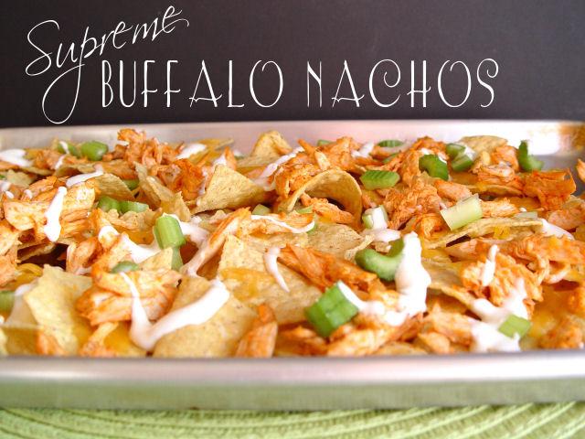 Supreme Buffalo Nachos