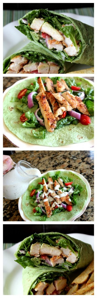 Grilled Chicken Ceasar Wrap