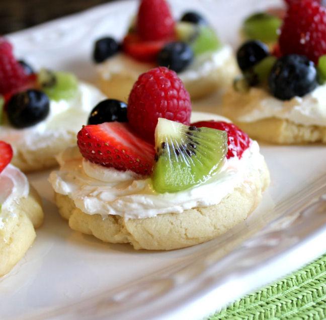 Fruit Tart Cookies