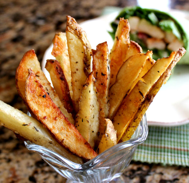 Crispy Parmesan Oven Fries