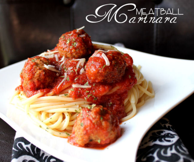 Meatball Marinara (Crock Pot)