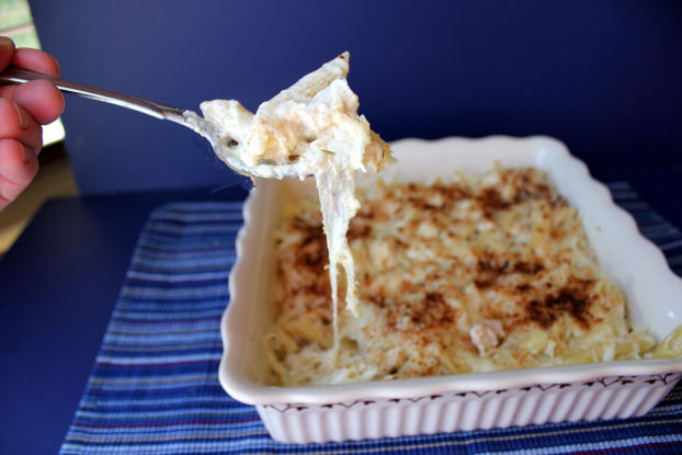 Creamy Chicken Pasta Bake Recipesbnb