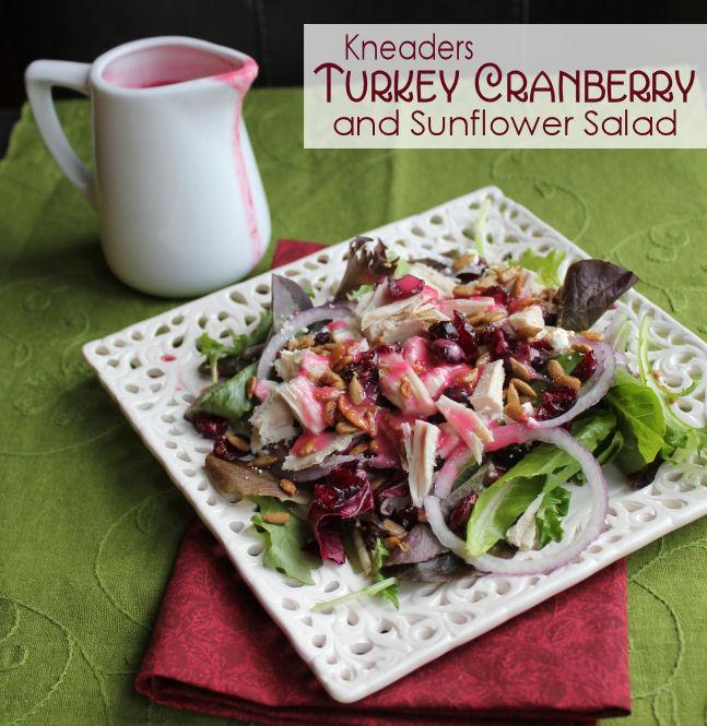 Kneaders Turkey Cranberry and Sunflower Salad