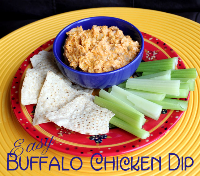 Easy Buffalo Chicken Dip (Crock Pot)