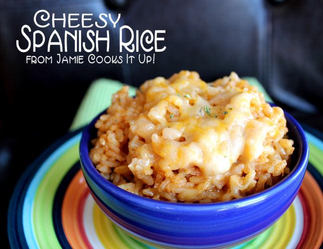 Cheesy Spanish Rice