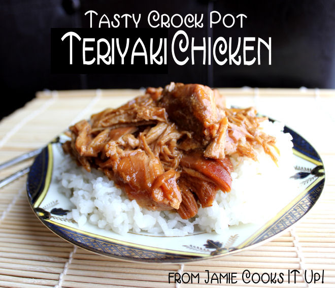 Tasty Teriyaki Chicken (Crock Pot)