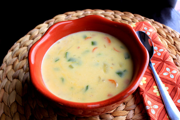 Southwest Cheddar Cheese Soup
