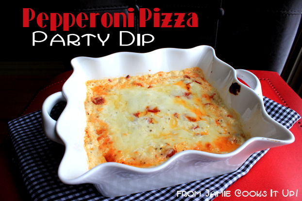 Pepperoni Pizza Party Dip