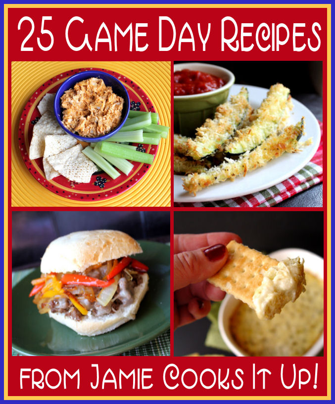25 Game Day Recipes