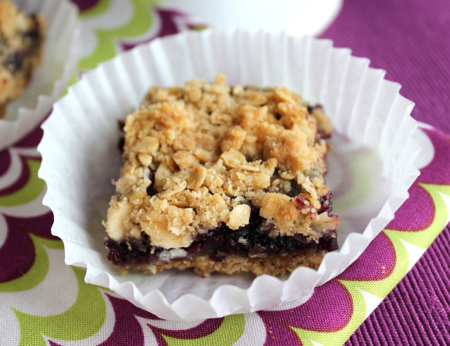 Oat and Berry Bars