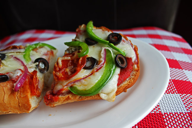 Simple French Bread Pizza