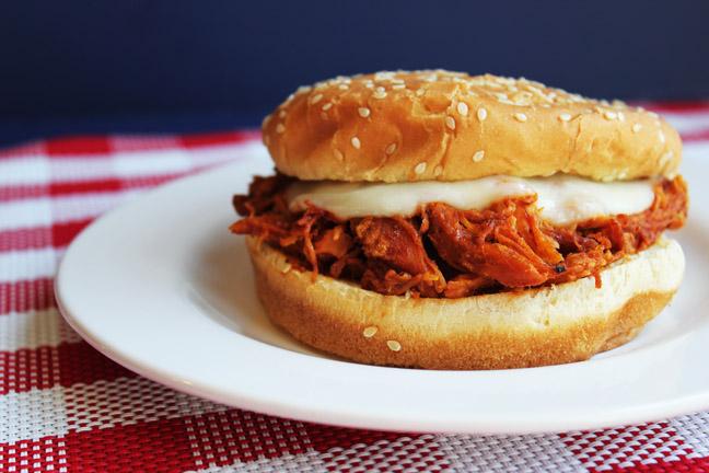 BBQ Chicken Sandwiches (Crock Pot)