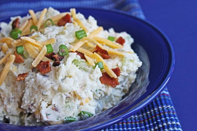 Bacon, Cheddar and Ranch Potato Salad