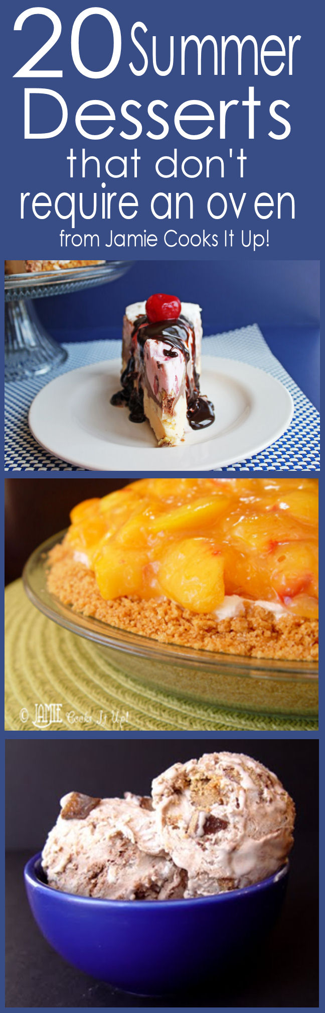 20 Summer Desserts That Don't Require an Oven
